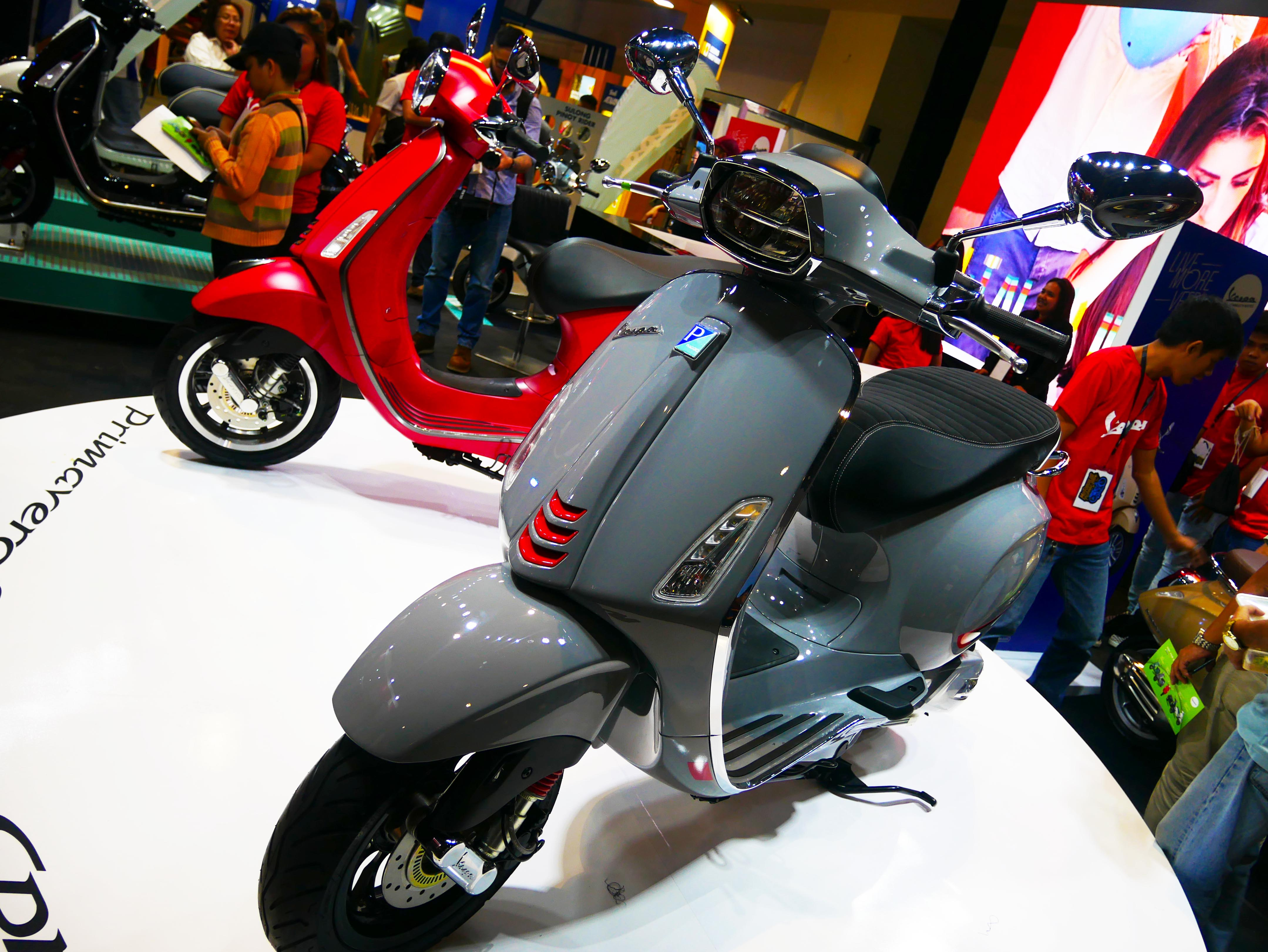 Motoitalia Launches New Vespa Primavera S And Vespa Sprint S