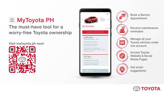 Toyota Sets New Normal In Car Maintenance With Mytoyotaph